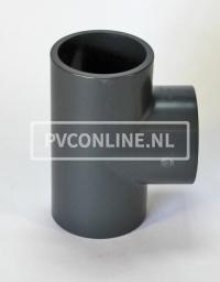 PVC HD T-STUK 75 X 75 X 75 PN16 *ASTORE*
