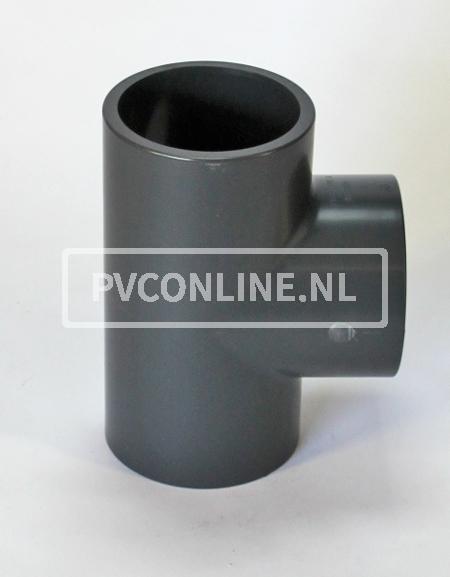 PVC HD T-STUK 110 X 110 X 110 PN16 *ASTORE*