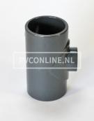 PVC HD T-STUK 25 X 16 X 25 PN16 *ASTORE*