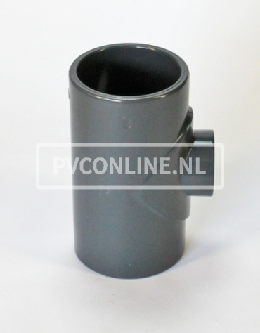 PVC HD T-STUK 110 X 75 X 110 PN16 *ASTORE*