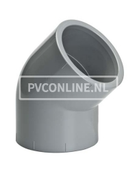 C-PVC KNIE 110 45* PN 25