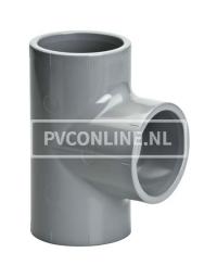C-PVC T-STUK 50 90* PN 25