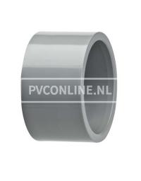 C-PVC VERLOOPRING 90 X 75 PN25
