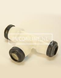 HAWLE T-STUK 50 X 50 X 50 GASKEUR