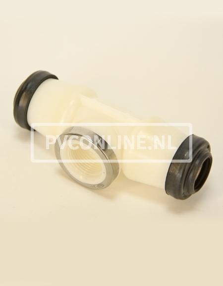HAWLE T-STUK 63 X 1 1/2 X 63 GASKEUR