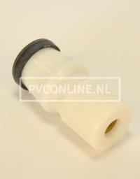 HAWLE VERLOOPSOK 40 X 28 KOPER GASKEUR