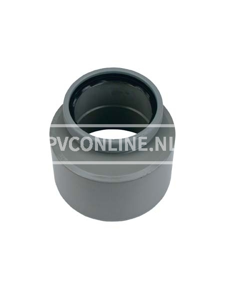 PVC INZETVERLOOP 1 X S/MA 160X125