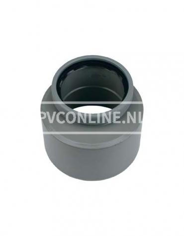 PVC INZETVERLOOP 1 X S/MA 200X125