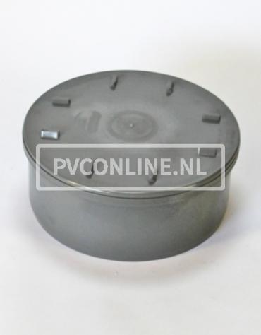 PVC EINDSTUK MET SCHROEFDEKSEL 315