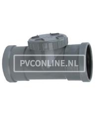 PVC ONTSTOPPINGST. SCHR. 160 2XMA