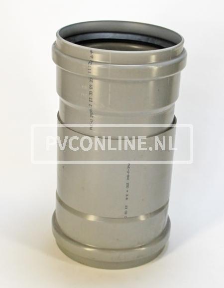 PVC ONTSTOPPINGST. SCHUIF 250 2XMA