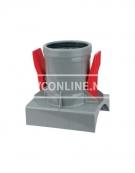 PVC KNEVELINLAAT ULTRA-3 250X160