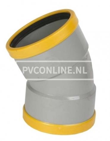 PVC BOCHT 2 X MA 160 SN 8 30*
