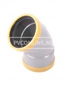 PVC BOCHT 2 X MA 160 SN 8 45*