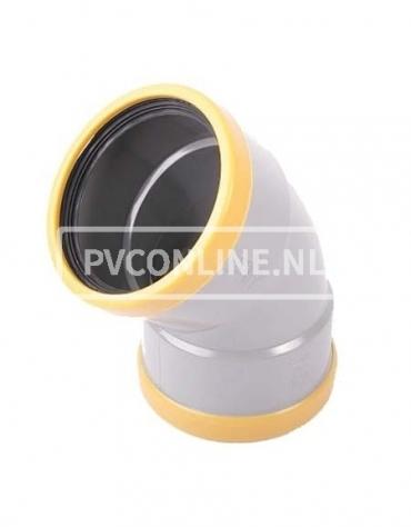 PVC BOCHT 2 X MA 200 SN 8 45*