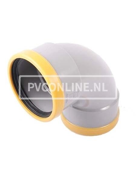 PVC BOCHT 2 X MA 200 SN 8 90*