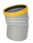 PVC BOCHT 1 X MA/S 160 SN 8 30*