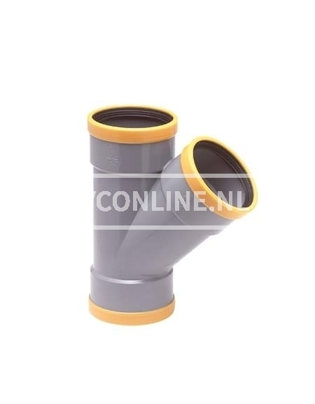 PVC T-STUK 3 XMA 160X125 SN 8 45*