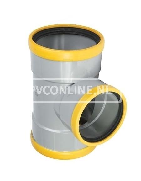 PVC T-STUK 2 X MA/S 125 SN 8 90*