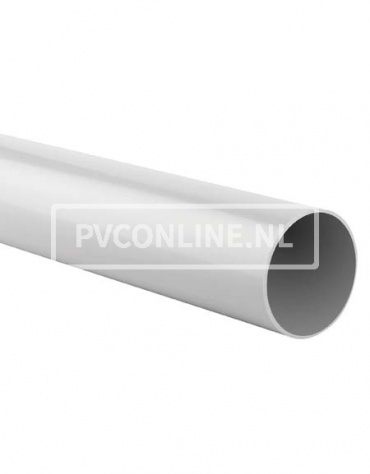 PVC HWA BUIS 100 WIT LGT 6 MTR
