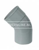 PVC BOCHT HWA M/SPIE 80 22*