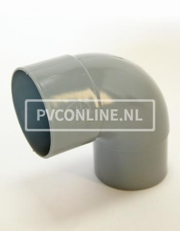 PVC BOCHT HWA M/VS 100 90*