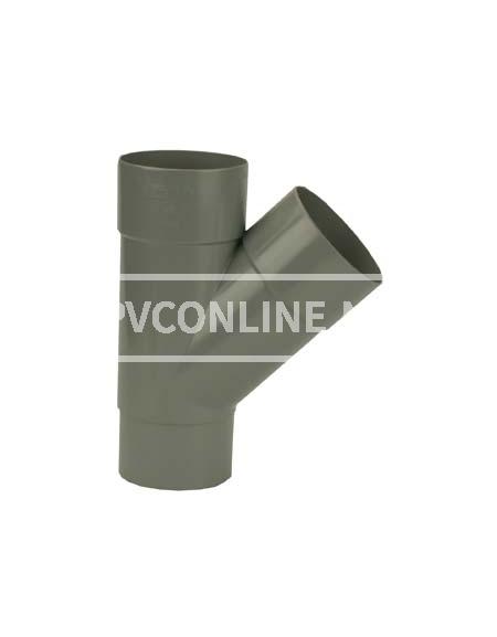 PVC T-STUK M/VS 70 45*