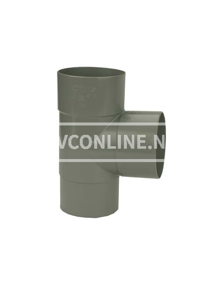 PVC T-STUK M/VS 100 90*