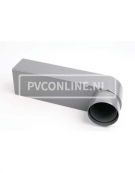 PVC STADSUITLOOP 60 x 100 VOOR BUIS 80/100