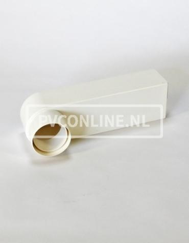 PVC STADSUITLOOP WIT 6X10 VOOR BUIS 80/100