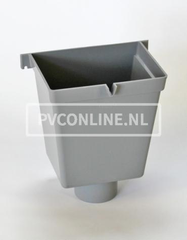 PVC VERGAARBAK 100 RECHTHOEK HOOG