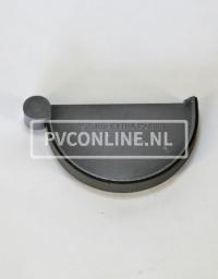 PVC GOOT EINDDEKSEL RECHTS 150 KLEM