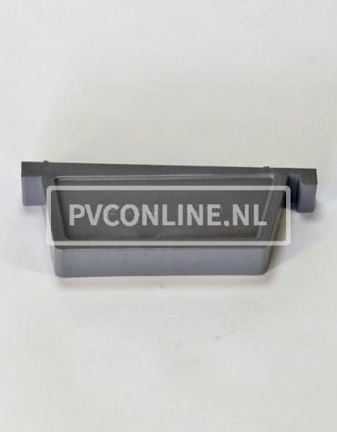PVC BAKGOOT EINDSTUK RECHTS 180 MM