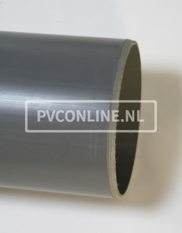 PVC AFVOERBUIS 200X4.9 SN 4 LGT 5 MTR