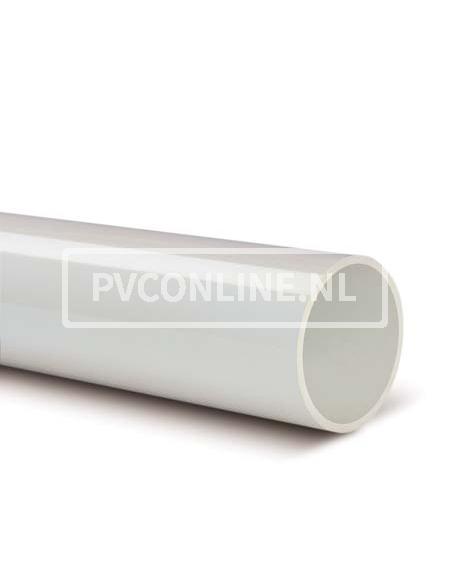 PVC AFVOERBUIS 40X3.0 SN 4 LGT 4 MTR *WIT*