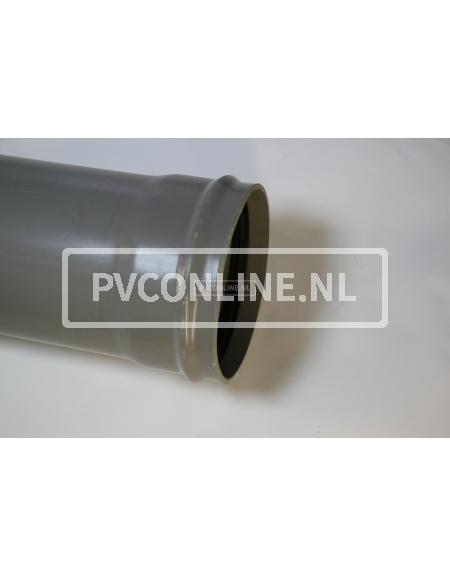 PVC AFVOERBUIS 250 RINGMOF SN 4 LGT 5 MTR