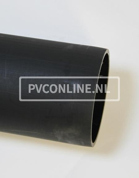 PVC RECYCLINGBUIS ZW 315X4.8 LIJMMOF LGT 5 MTR