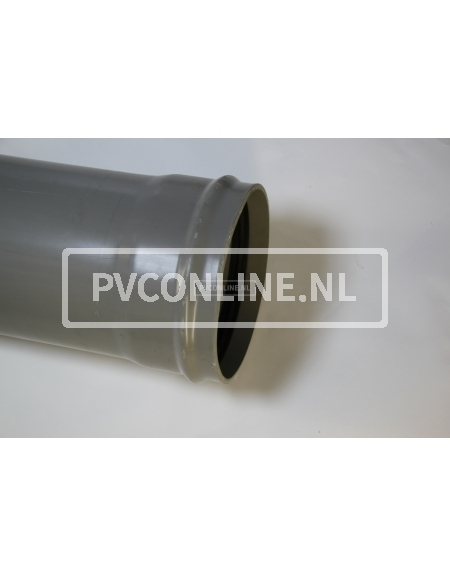 PVC AFVOERBUIS 400 RINGMOF SN 8 LGT 5 MTR