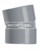 PVC BOCHT 2 X LM 125 15*
