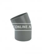 PVC BOCHT 1 X LM/S 110 22*