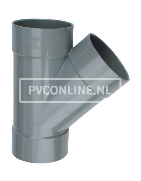 PVC T-STUK 3 X LM 50 X 50 45*