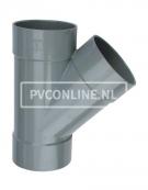 PVC T-STUK 3 X LM 90 X 90 45*