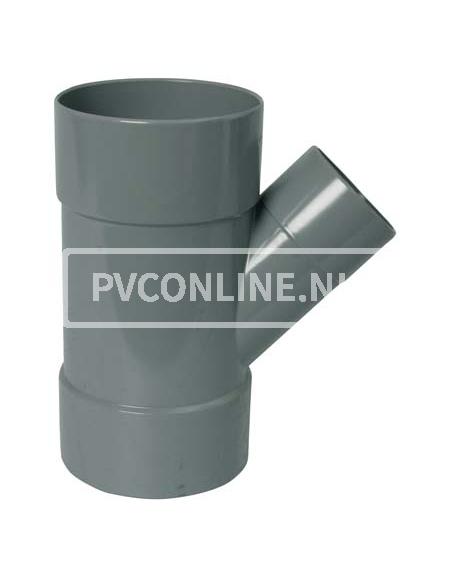 PVC T-STUK 3 X LM 125 X 110 45*