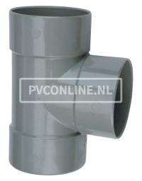 PVC T-STUK 3 X LM 50 X 40 90*