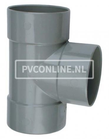 PVC T-STUK 3 X LM 125 X 50 90*