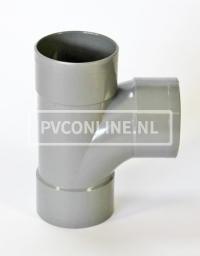 PVC T-STUK 3 X LM 125 X 125 90* STROMEND