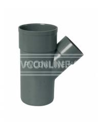PVC T-STUK 2 X LM/S 75 X 75 45*