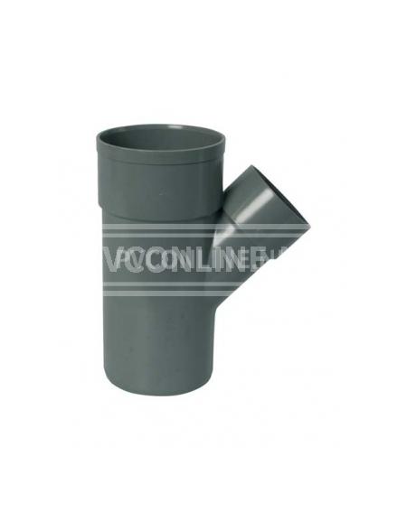 PVC T-STUK 2 X LM/S 160 X 160 45*