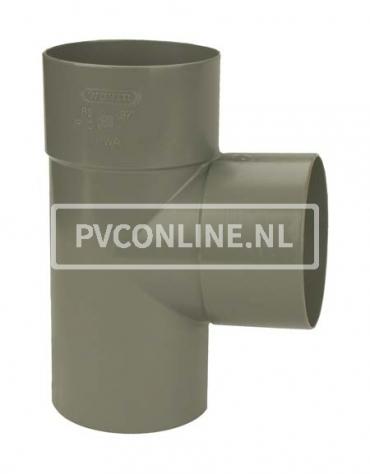 PVC T-STUK 2 X LM/S 40 X 40 90*