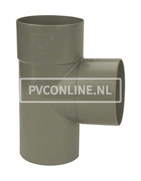 PVC T-STUK 2 X LM/S 110 X 50 90*